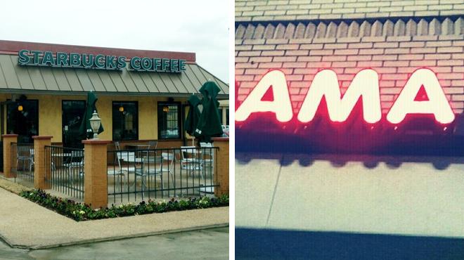 American restaurant ⇨ Coffee shop ⇨ Mexican restaurant