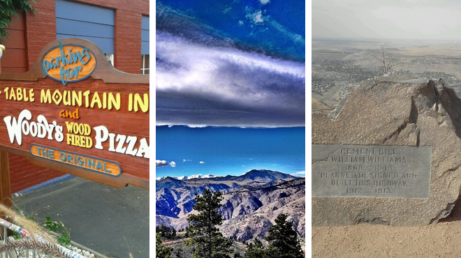 Pizza place ⇨ Mountain ⇨ Learn about history