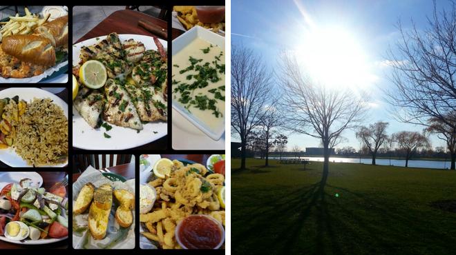 Seafood restaurant ⇨ Lake