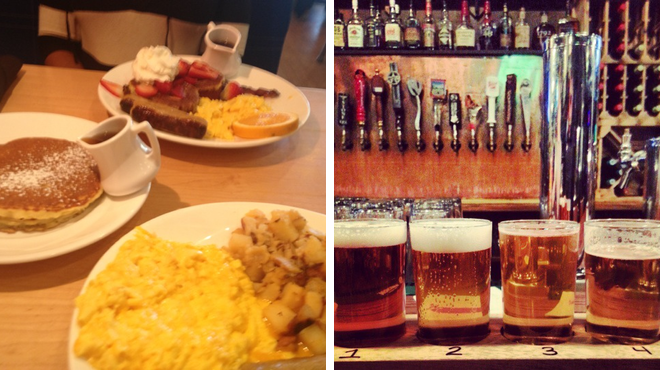 Breakfast spot ⇨ Pub