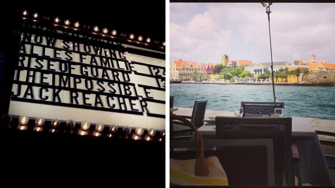 Catch a movie ⇨ Swiss restaurant