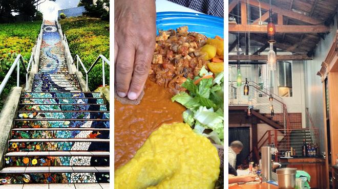 Scenic Views ⇨ Ethiopian restaurant ⇨ Brewery