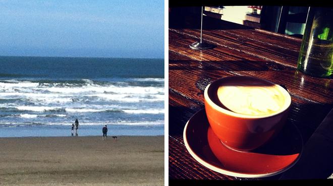 Surf spot ⇨ Café