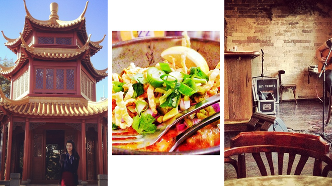Garden ⇨ Thai restaurant ⇨ Bar
