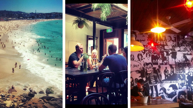 Beach ⇨ Australian restaurant ⇨ Wine bar
