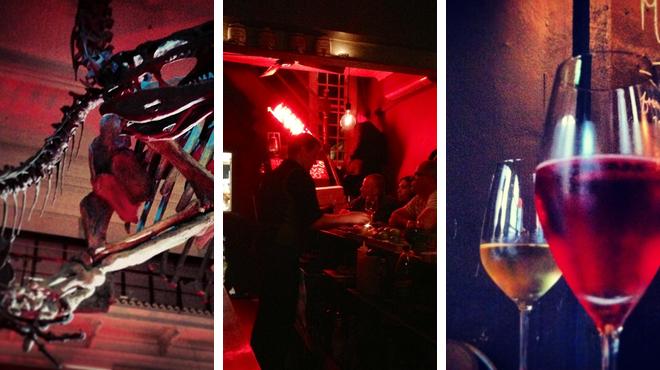 Experience exhibits ⇨ Tapas restaurant ⇨ Wine bar
