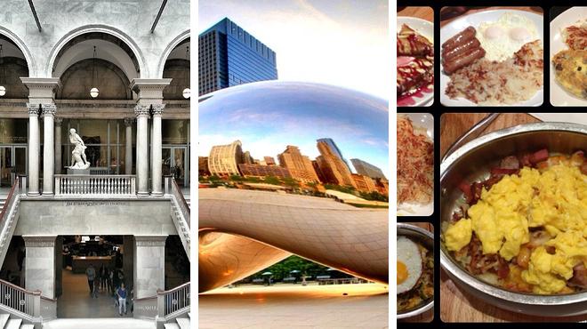 Learn about art ⇨ Park ⇨ Breakfast spot