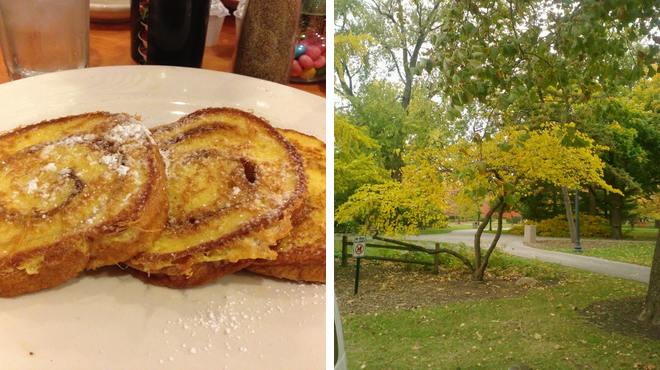 Breakfast spot ⇨ Park