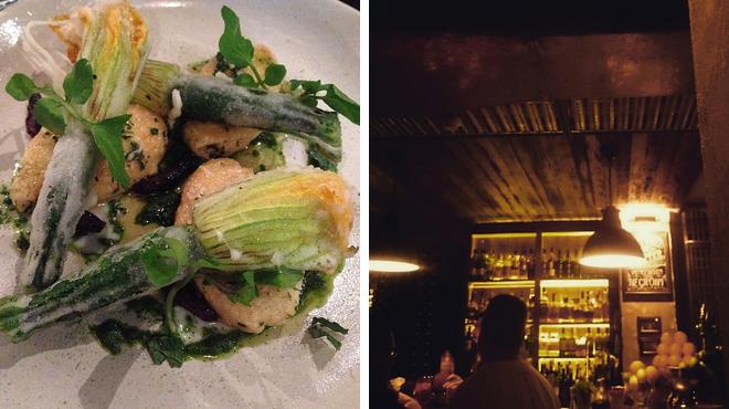 Tapas restaurant ⇨ Speakeasy