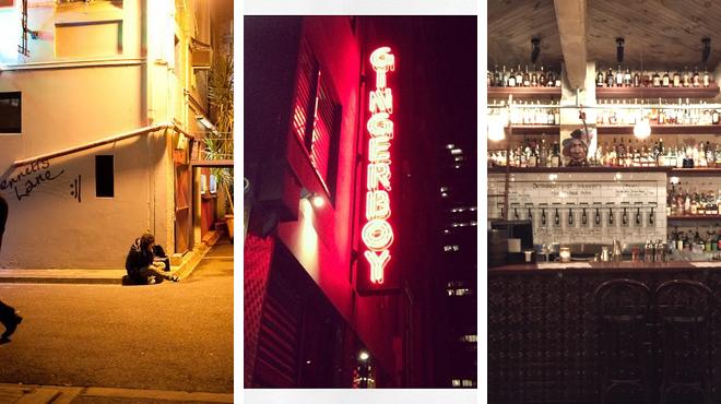 Jazz club ⇨ Asian restaurant ⇨ Whisky bar