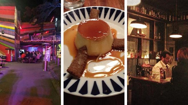 Music venue ⇨ Tapas restaurant ⇨ Delicious Cocktails