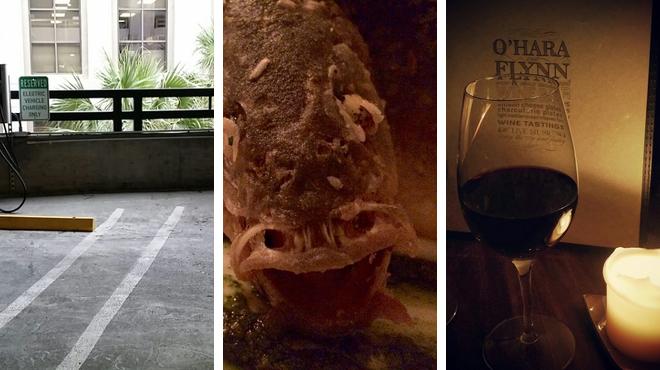 Performing arts venue ⇨ American restaurant ⇨ Wine bar