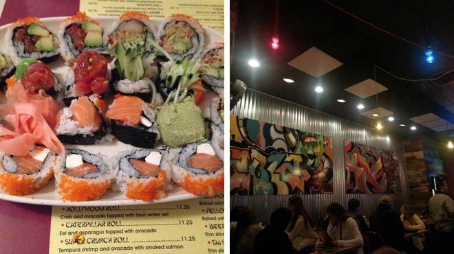 Sushi restaurant ⇨ Bar