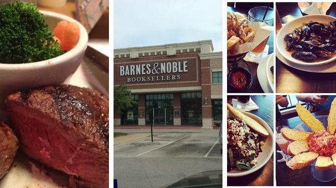 Steakhouse ⇨ Bookstore ⇨ Bar