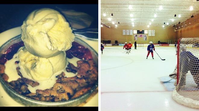 American restaurant ⇨ Skating rink