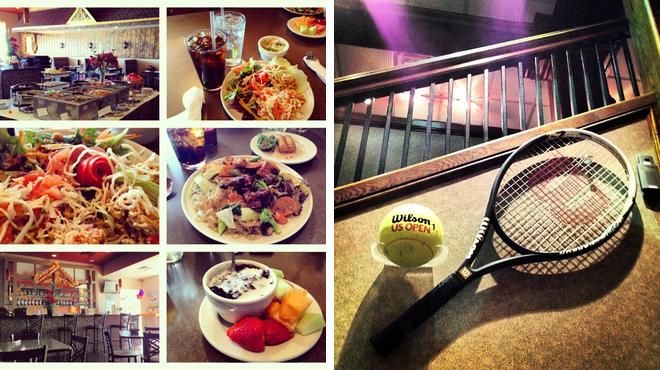 Thai restaurant ⇨ Golf course
