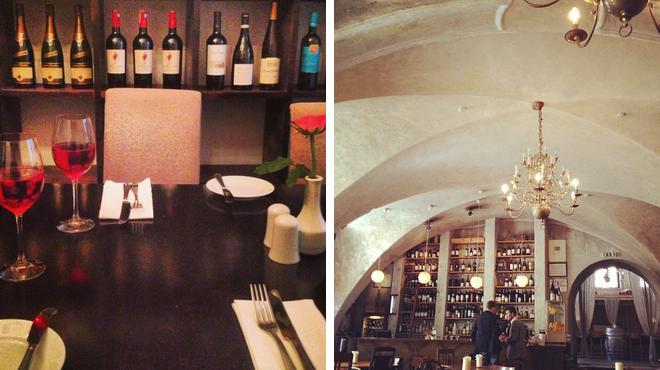 Bistro ⇨ Wine bar