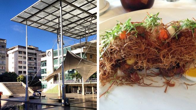 Plaza ⇨ Molecular gastronomy restaurant