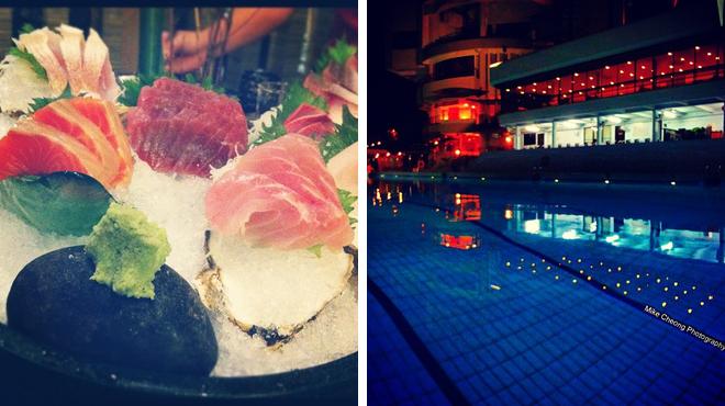 Japanese restaurant ⇨ Pool