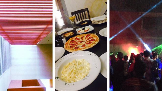 Learn about art ⇨ Italian restaurant ⇨ Nightclub