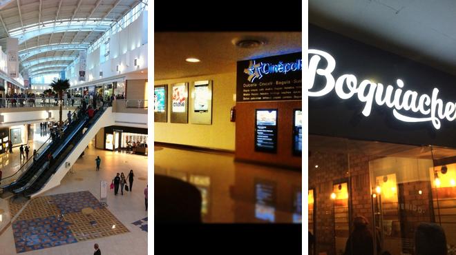 Mall ⇨ Catch a movie ⇨ Restaurant