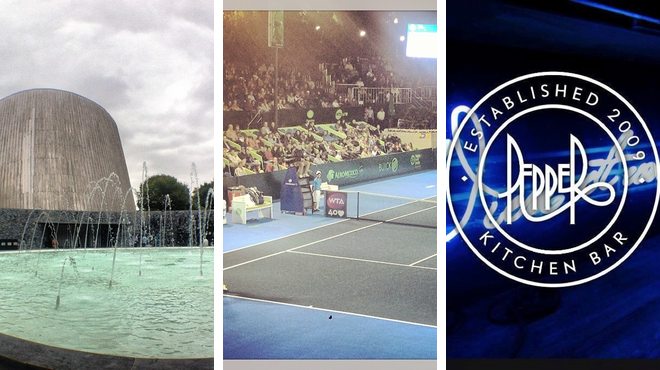 Discover planets & stars ⇨ Tennis court ⇨ Lounge