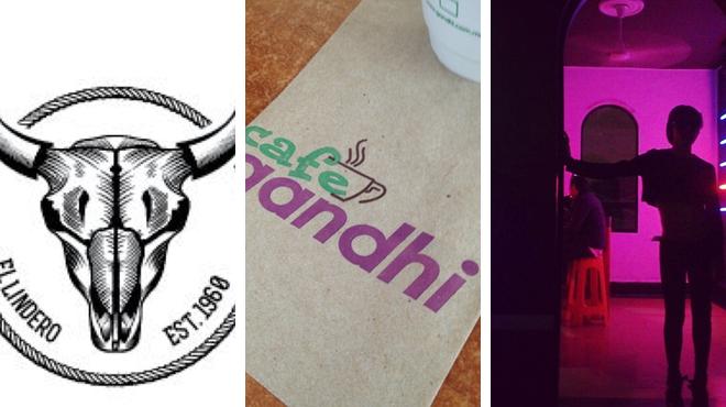 Mexican restaurant ⇨ Bookstore ⇨ Nightclub