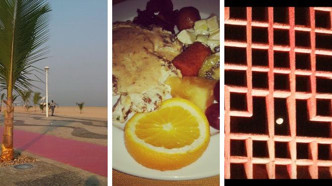 Beach ⇨ Seafood restaurant ⇨ Lounge