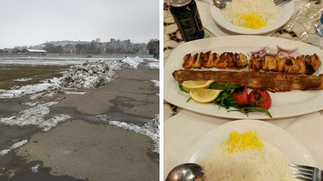 Sports club ⇨ Persian restaurant