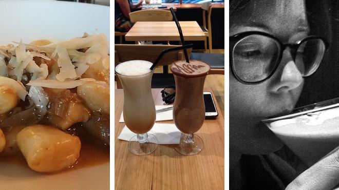 Italian restaurant ⇨ Chocolate shop ⇨ Delicious Cocktails
