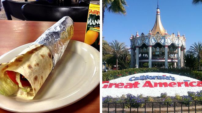 Falafel restaurant ⇨ Theme park