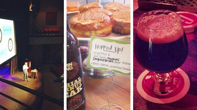 Catch a show ⇨ Donut shop ⇨ Pub