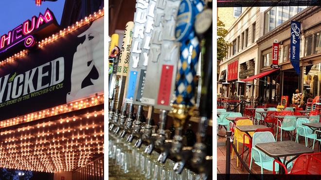 Theater ⇨ American restaurant ⇨ Pub