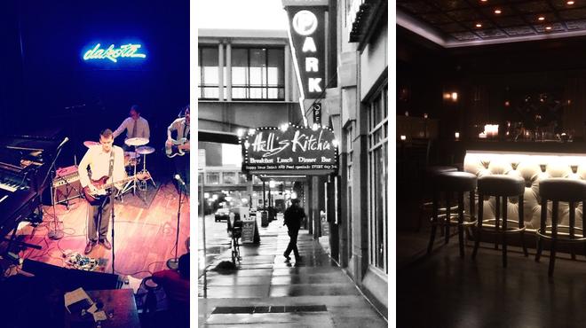 Jazz club ⇨ American restaurant ⇨ Bar