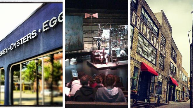 American restaurant ⇨ Performing arts venue ⇨ Bar