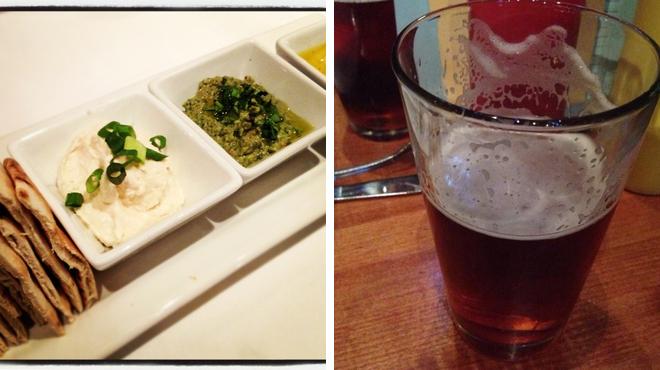 Mediterranean restaurant ⇨ Brewery