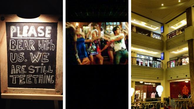 Gastropub ⇨ Catch a movie ⇨ Mall