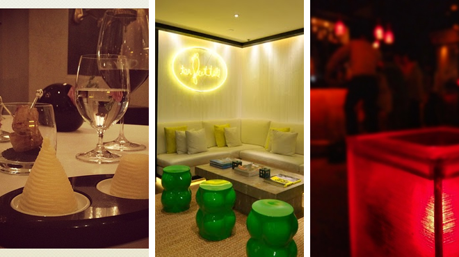 French restaurant ⇨ Spa ⇨ Nightclub