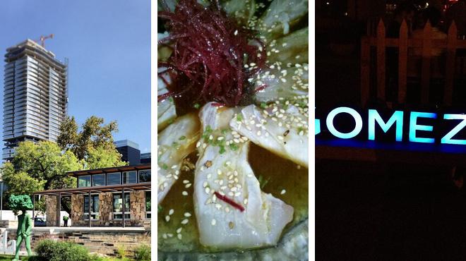 Park ⇨ Japanese restaurant ⇨ Bar