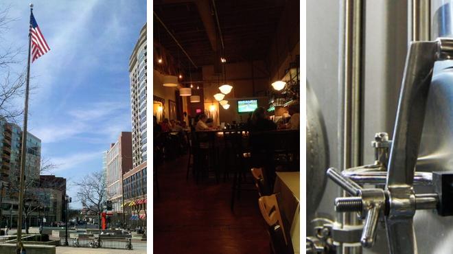 Plaza ⇨ American restaurant ⇨ Brewery