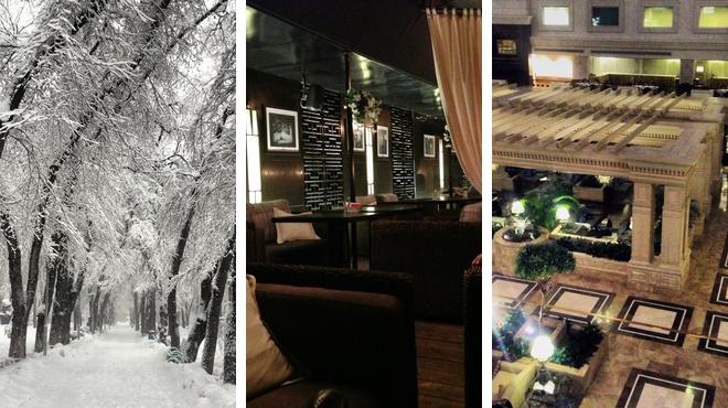Park ⇨ Asian restaurant ⇨ Hotel bar