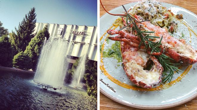 Theater ⇨ Mediterranean restaurant