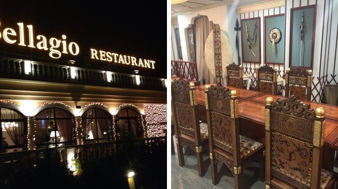 Italian restaurant ⇨ Wine bar
