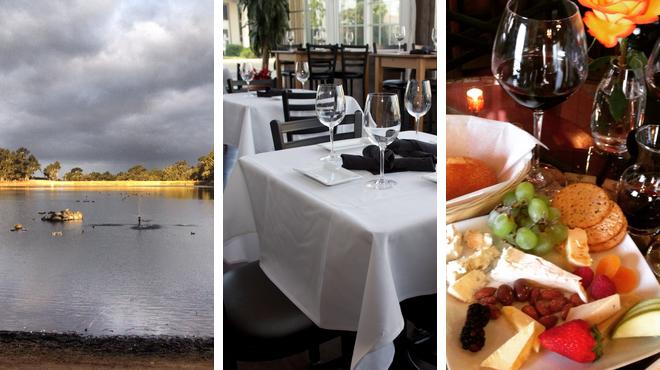 Lake ⇨ Restaurant ⇨ Wine bar