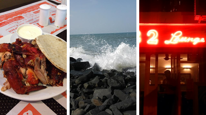 Bbq joints ⇨ Beaches ⇨ Lounge