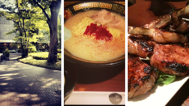 Learn about art ⇨ Ramen restaurant ⇨ Spanish restaurant