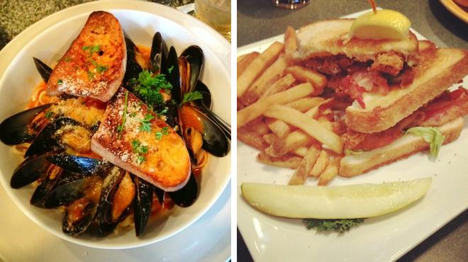 Italian restaurant ⇨ Sports bar