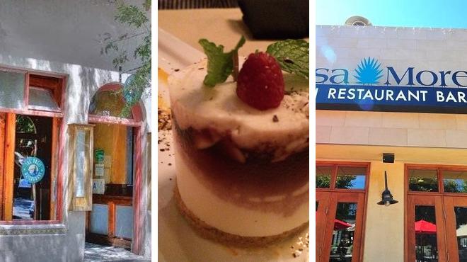 Bar ⇨ Italian restaurant ⇨ Bar