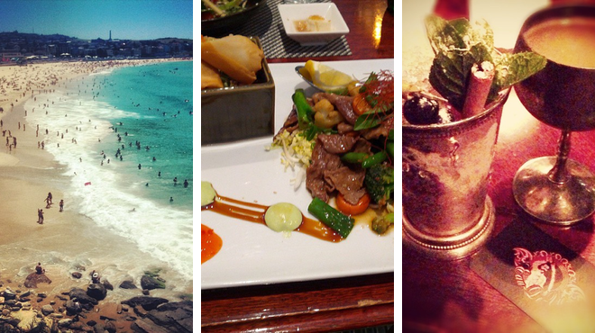 Beach ⇨ Japanese restaurant ⇨ Lounge