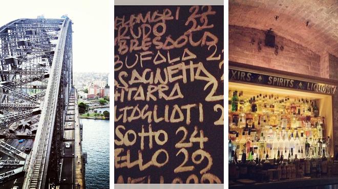 Scenic Views ⇨ Italian restaurant ⇨ Speakeasy